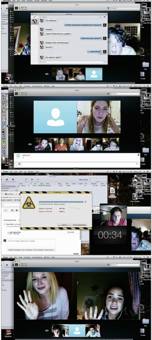 Unfriended BluRay 720p 350mb