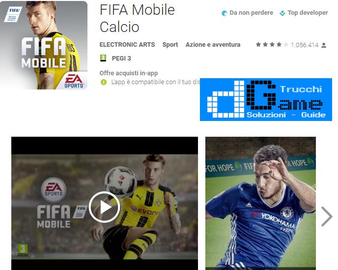 Trucchi FIFA Mobile Soccer Mod Apk Android v4.0.0