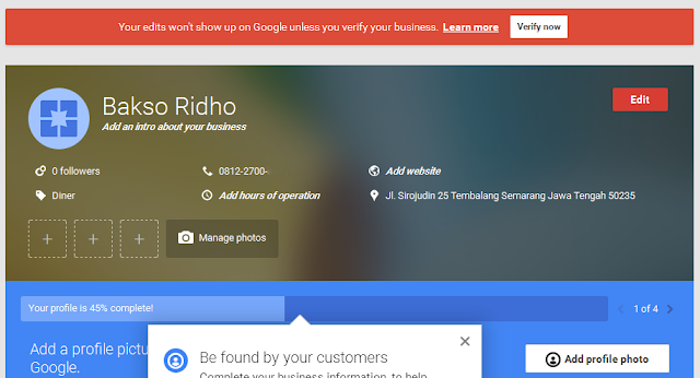 Cara Membuat Google Bisnisku Google My Business Kumpulan Tutorial