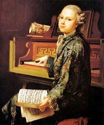 Portrait d'un jeune musicien