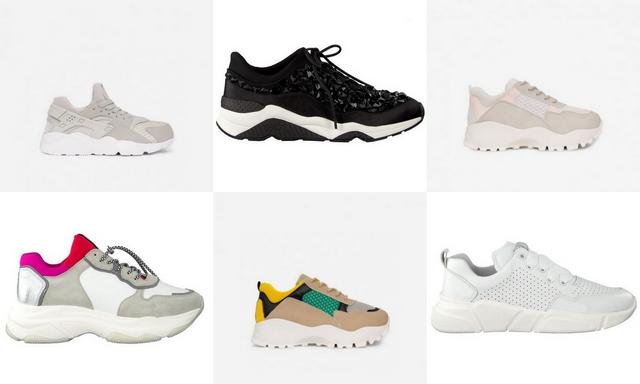 Ugly sneaker trend chunky dad sneakers plateau gympen sportschoenen fila balenciaga goedkope blogger schoenen