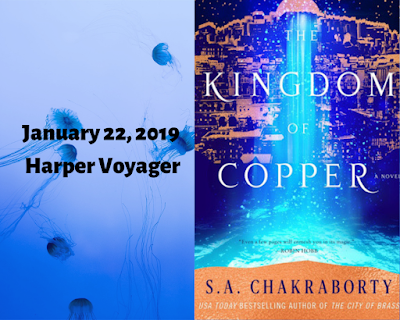 The Kingdom of Copper, The Daevabad Trilogy #2, S.A. Chakraborty, InToriLex