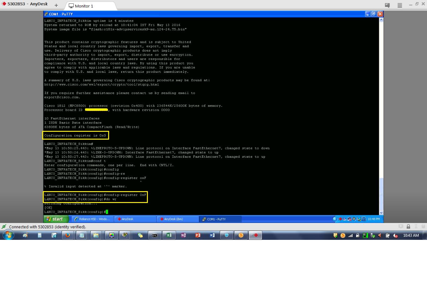 Sujoy's Tech Blog: Cisco Router Rommon Mode Problem_How to Get a