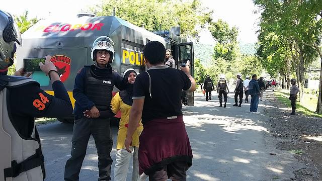 Bawa Senjata Rakitan, Puluhan Warga Sampoddo Ditangkap