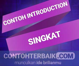 Contoh Introduction