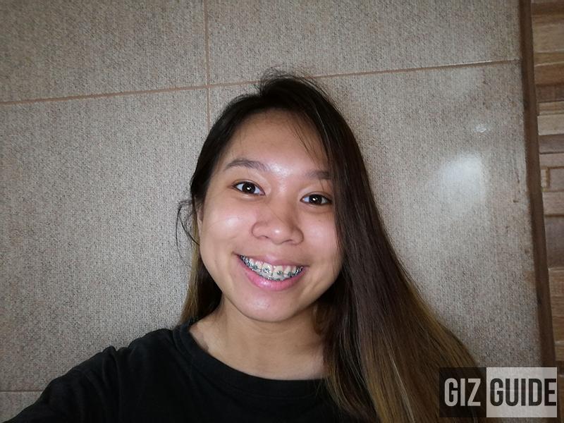 Lowlight selfie with screen flash Nova 3i