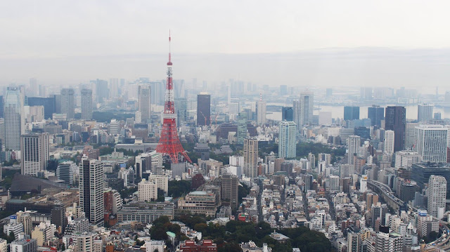 Tokyo Tower - View from Mori Tower