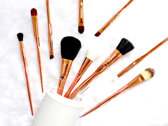 Beau Belle Rose Gold Brushes Review