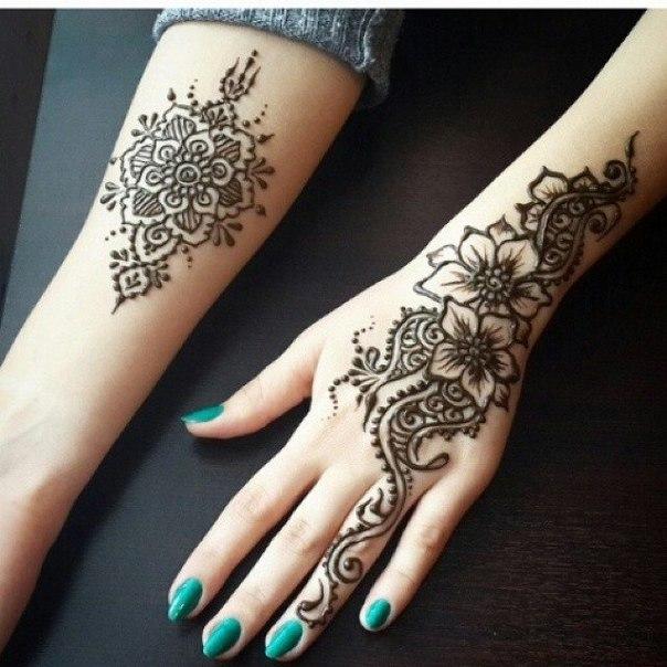 Dịch vụ vẽ henna nghệ thuật