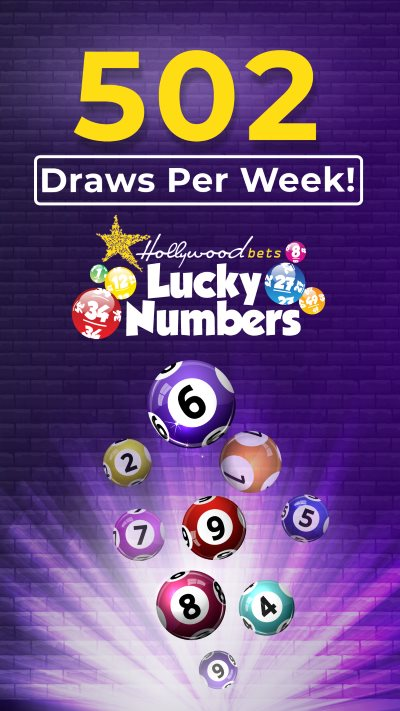 502 Lucky Numbers Draw Per Week at Hollywoodbets! - Lotto Balls