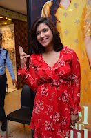 Mannara Chopra in deep neck Short red sleeveless dress Cute Beauty ~  Exclusive Celebrities Galleries 101.JPG