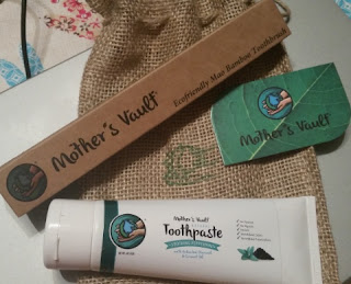Mother's Vault All Natural Charcoal Toothpaste! set