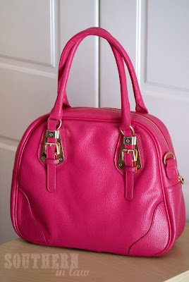 Pink Leather Handbag - Eclipse Fashion Bags