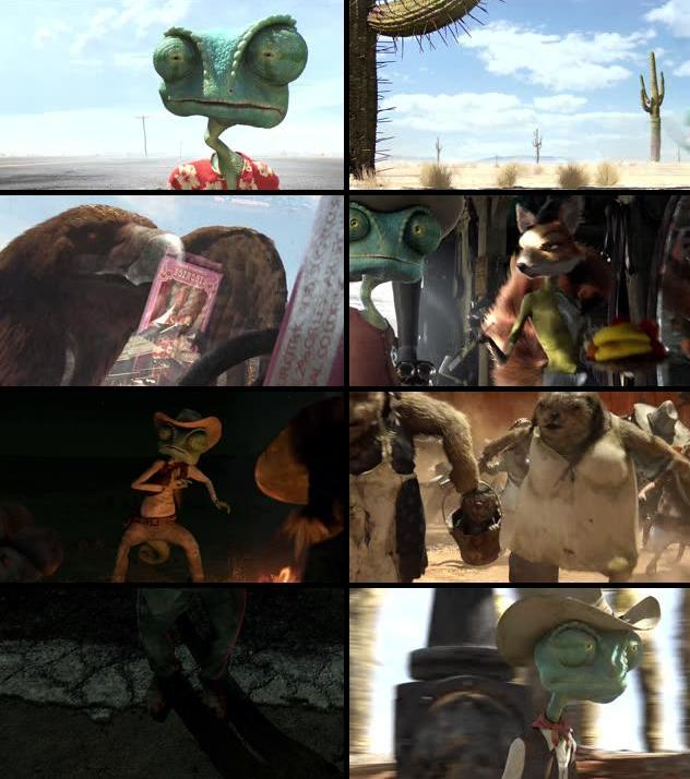 Rango 2011 Dual Audio Hindi 720p BluRay