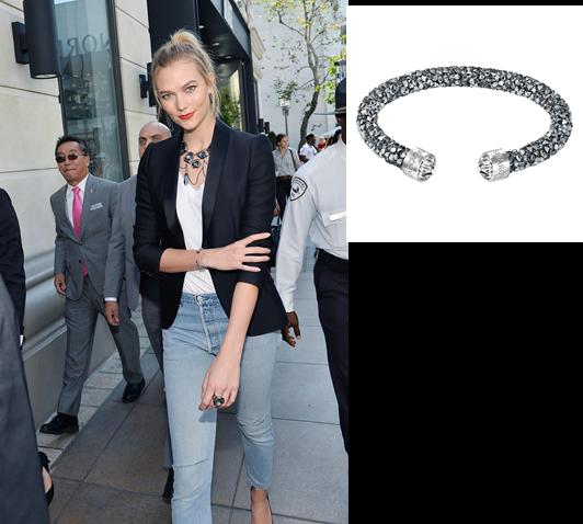 Η Karlie Kloss στο Grove στο Los Angeles με κοσμήματα Swarovski...!