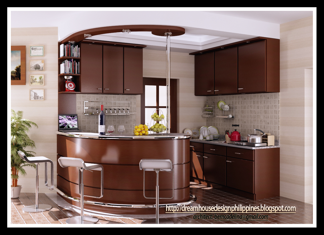 Philippine Dream House Design Kitchen Design