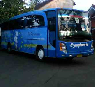 Rental Bus Simphony, Rental Bus Simphony Murah