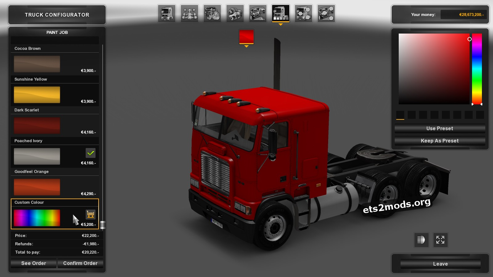 Freightliner FLB Truck v 2.0