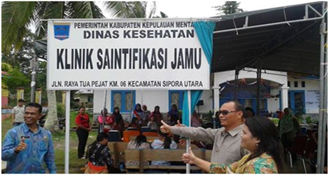 Klinik Saintifikasi Jamu, Pertama Di Sumatera