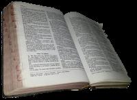 Biblia Reina Valera 1960 abierta en Oseas