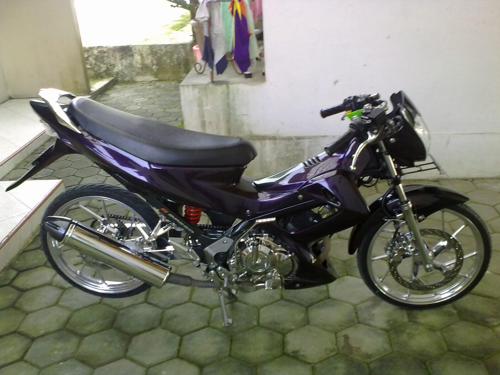 Modifikasi Vespa Ceper atau Low Rider