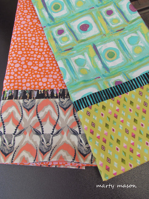 pillow cases made by Marty Mason