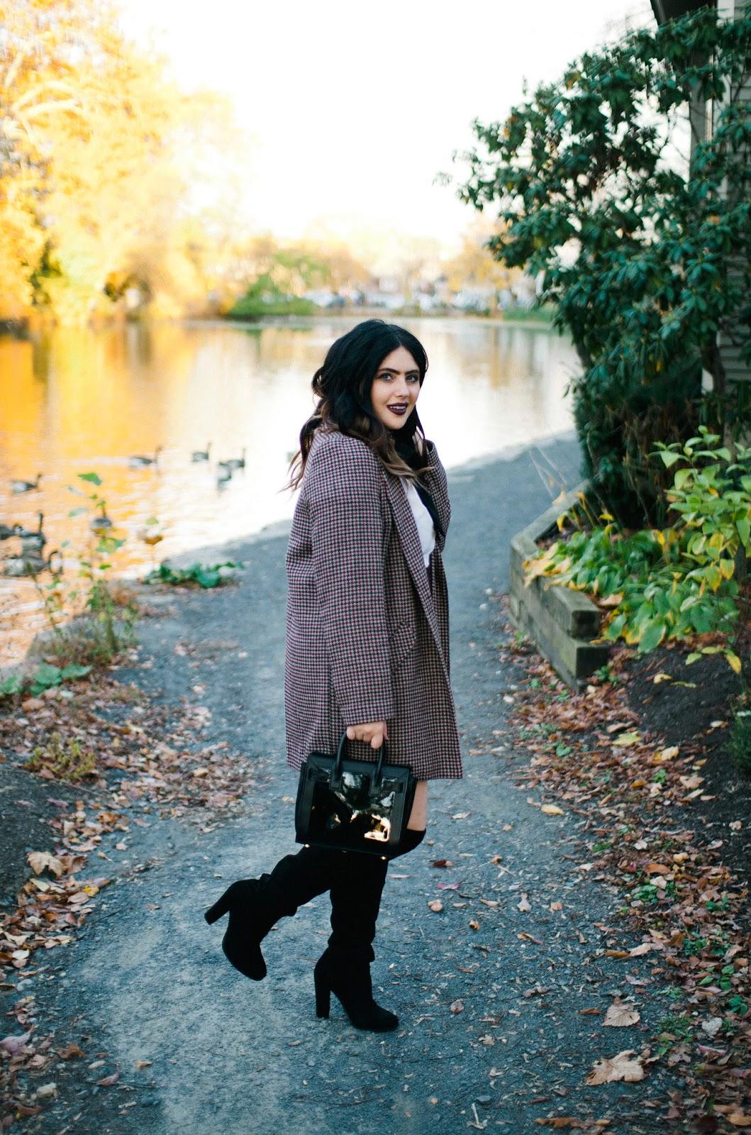 Primark, blogger, blog, style, over the knee boots, laurent, co-ord, jacket, skirt