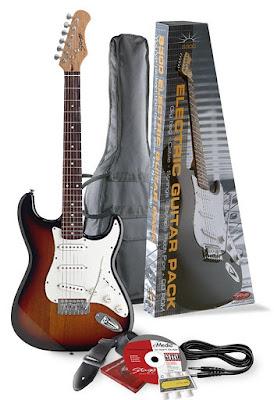 Đàn Guitar điện Stagg S300SB Pack2