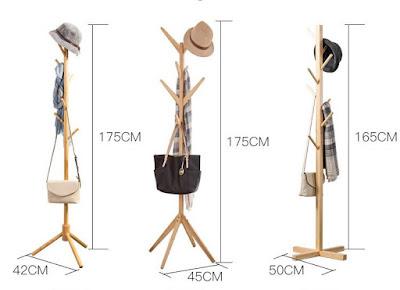kích thước cây treo quần áo thông minh