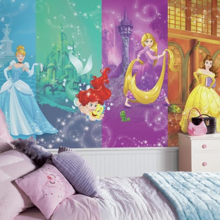 Wall Murals for Kids Room Disney Princess