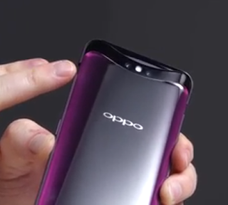 Oppo Find X Hideable back camera