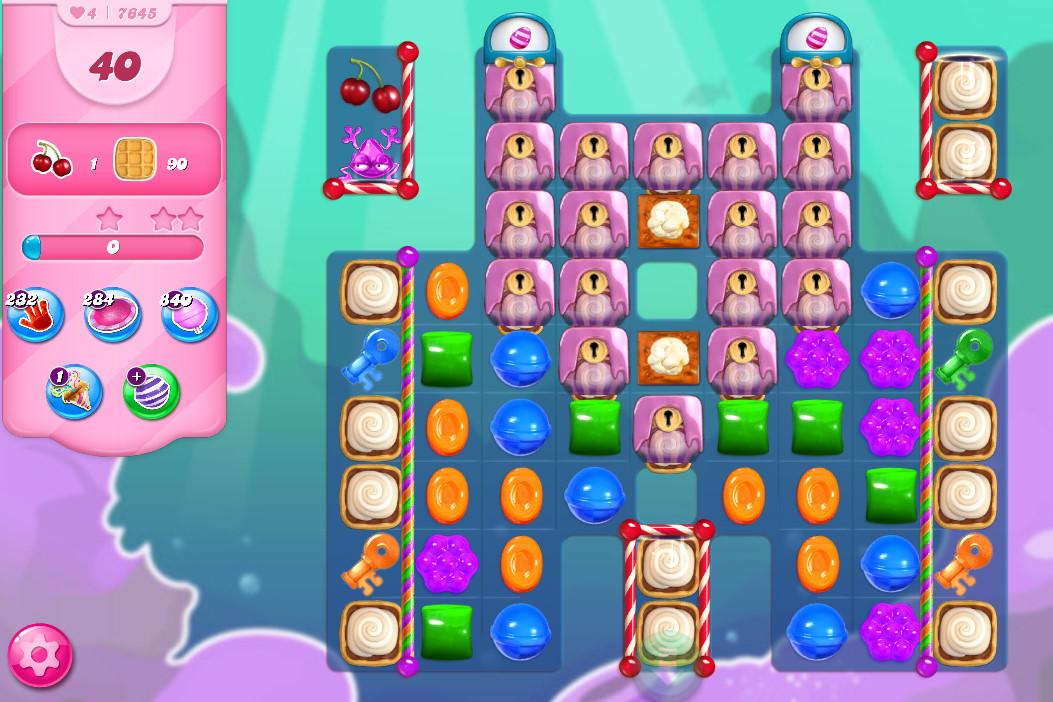 Candy Crush Saga level 7645