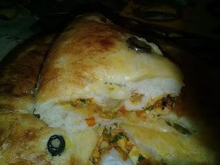 Recette de khobza ma7chiya aux légumes d'été