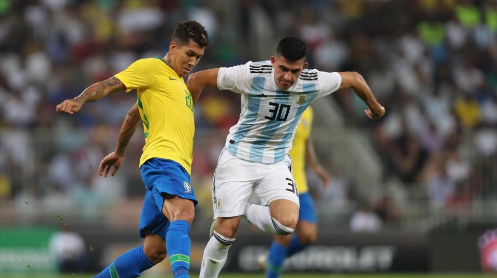 Brasil vence o amistoso sobre a Argentina f3a40aea34544
