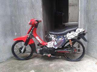 Modifikasi Suzuki RC 110 Crystal