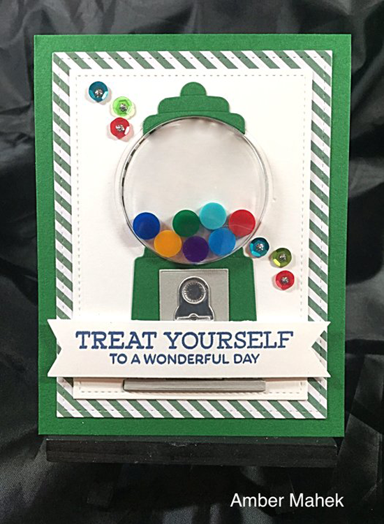 Gumball Greetings Card Kit - Amber Mahek #mftstamps