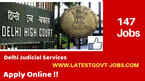 Delhi High Court Recruitment 2018 - 147 Jobs - LLB / Law Degree - Apply Online