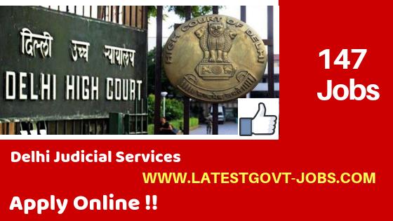 New jobs in Delhi High Court