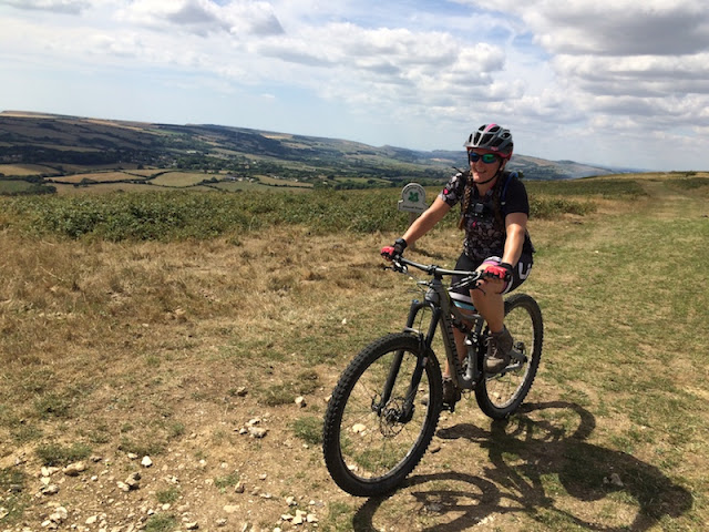 FitBits _ Mountain biking on the Isle of Purbeck - Tess Agnew fitness blogger