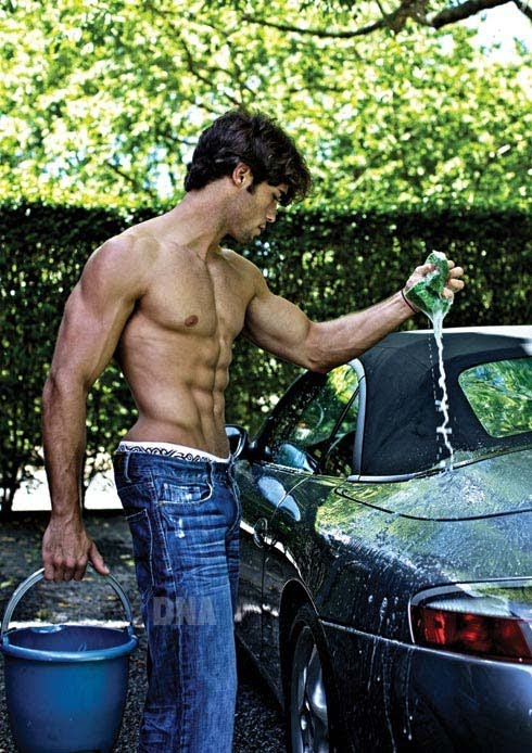 Attractive Girls Washing Cars Nude Scenes