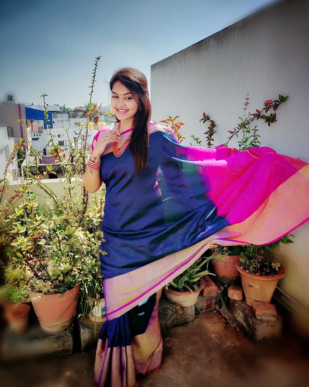 Saravanan Meenakshi Rachitha Beautiful Stills In