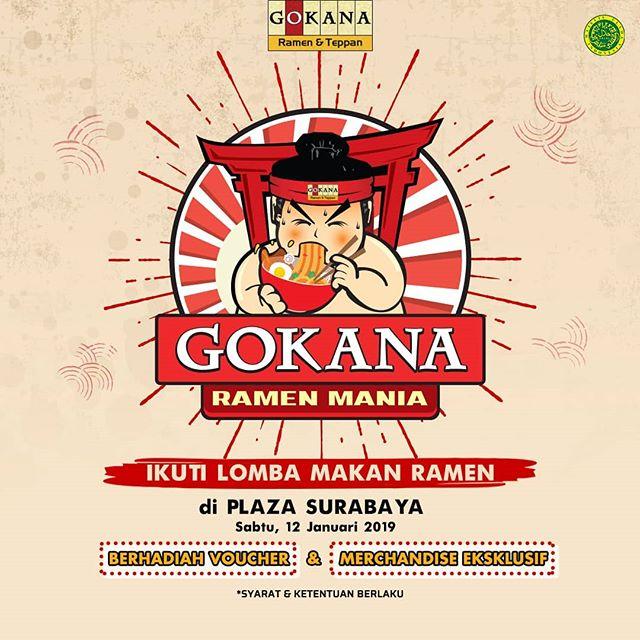 #Gokana - Promo Kontes Lomba Makan Ramen di Plaza Surabaya