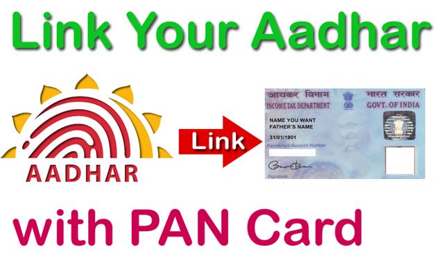 Link Aadhaar Number With PAN Card