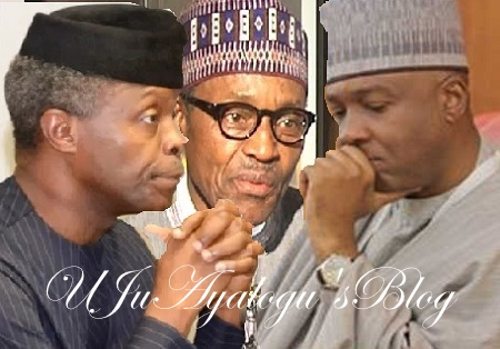 EXPOSED: Aso Rock Cabals, DSS Boss Join Forces To Force-out Buhari, Impeach Osinbajo, Install Saraki As President Before 2019