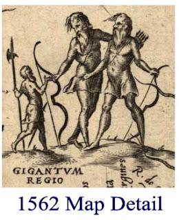 Habían gigantes en  América del Sur?