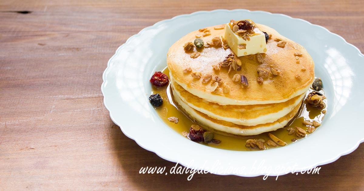 Banana Cake Pancake Mix