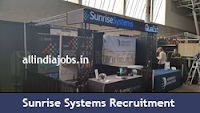 Sunrise Systems Recruitment