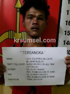 Pelaku DPO, Curat Akhirnya Berhasil Dibekuk Polisi