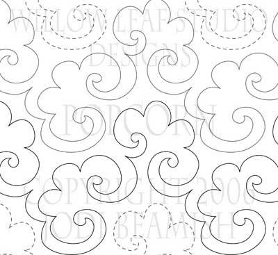 'Popcorn' pantograph by Clothwerx