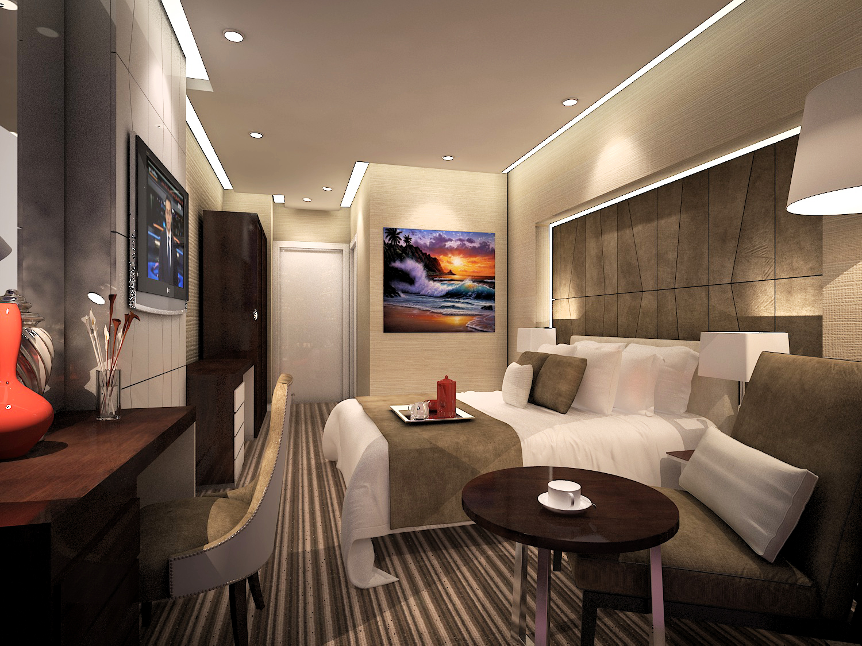 small hotel room interior design